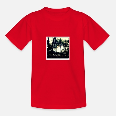 Palmenwald - Teenager T-Shirt