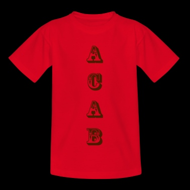 ACAB - Teenager T-Shirt