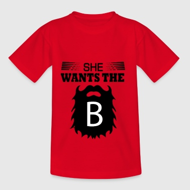 She wants - Teenage T-shirt