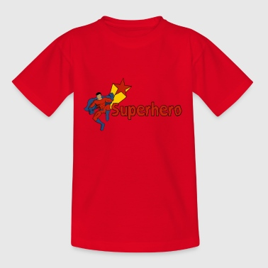 Superhero - Teenage T-shirt