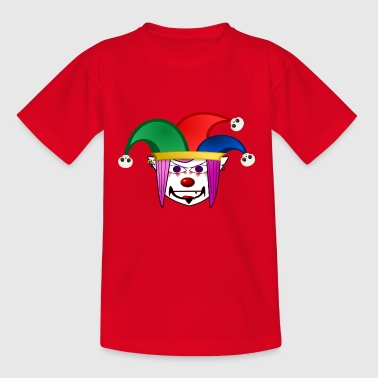 Clown or carnival prince to carnival - Teenage T-shirt