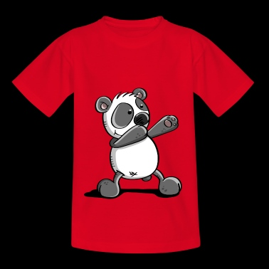 Panda in Disco - Dabbing - Dab Dance - Gift - Teenager T-shirt