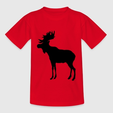Moose · Elk · Moose - Teenager-T-shirt