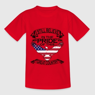 Soldat Tätowiert Tattoos Amerikaner Patriot Krieg - Teenager T-Shirt