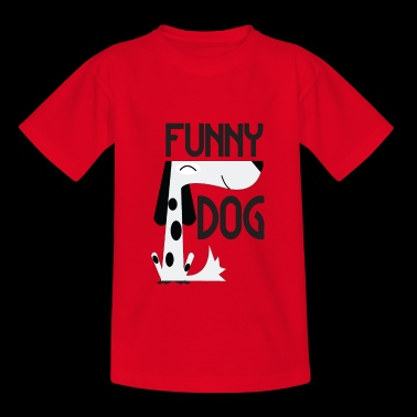 Funny Dog - Funny Dog - Teenage T-shirt