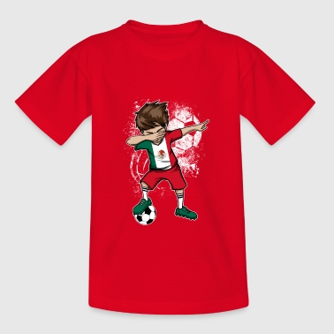 Coupe du monde de footballeur du Mexique - T-shirt Ado