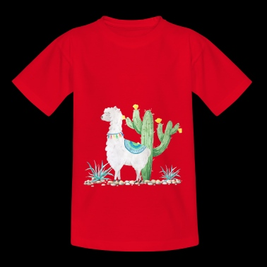 lama - Teenager T-shirt