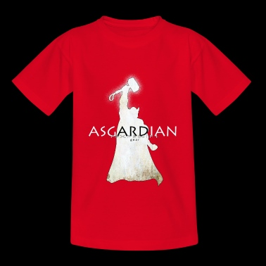 Asgardian Thor (white) - Teenage T-shirt