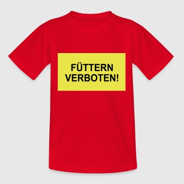 FEED INTERDIT - T-shirt Ado