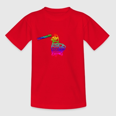 Lama Fortnite T-shirt - Teenager T-shirt