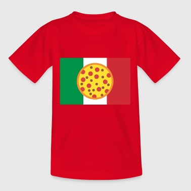 Italy pizza - Teenage T-shirt