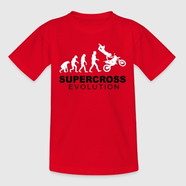 Supercross Evolution - T-shirt tonåring