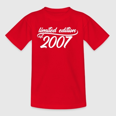 Limited Edition est 2007 - Teenager T-Shirt