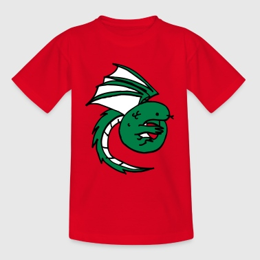 dragon - lindworm - fairy tale - Teenage T-shirt