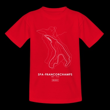 CIRCUIT SPA-FRANCORCHAMPS - BELGIË - Teenager T-shirt