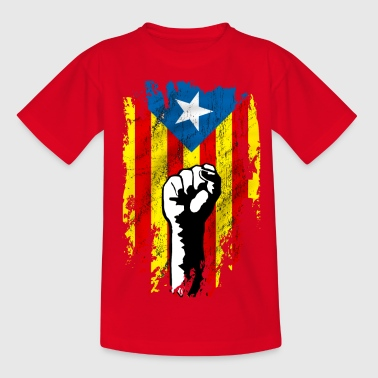 catalunya power - Teenage T-shirt
