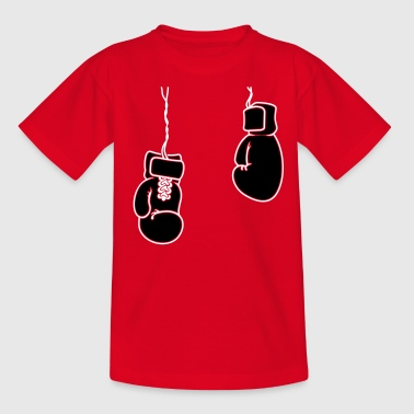 boxing gloves / Boxhandschuhe  (2c) - Teenage T-shirt