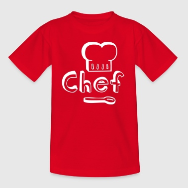 Master Chef - Camiseta adolescente