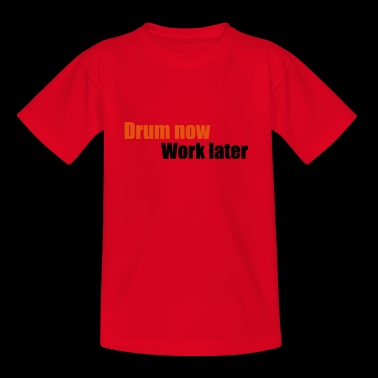 2541614 13462547 drum - Teenager T-Shirt