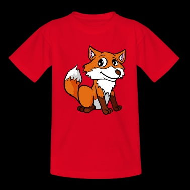 Cute fox - Teenage T-shirt