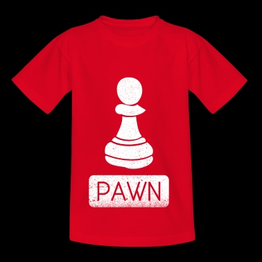 Pawn Chess Piece Gift - Teenage T-shirt