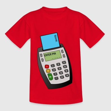 Chip et Pin machine - T-shirt Ado