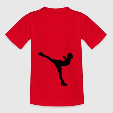 Patinage artistique - T-shirt Ado