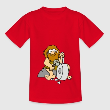 Caveman - Teenager-T-shirt