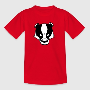 Angry Badger - Teenage T-shirt