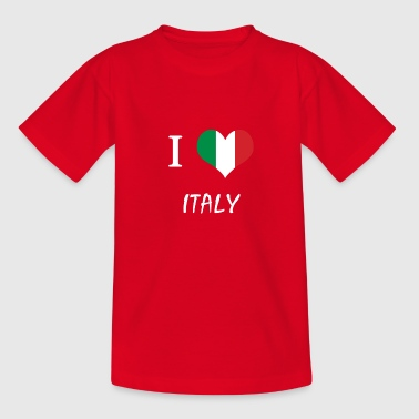 The shirt for Italians, Italy - Teenage T-shirt