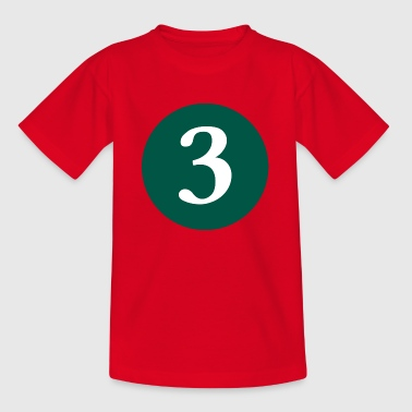 3 - Teenager T-shirt
