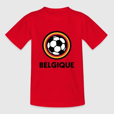 Football Logo de Belgique - T-shirt Ado