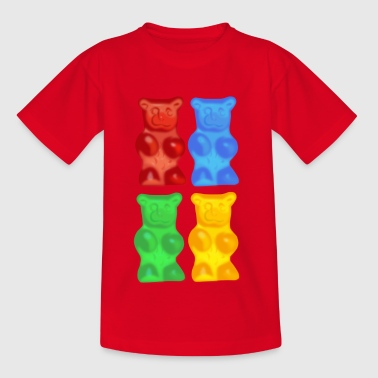Gummy bears - Teenage T-shirt
