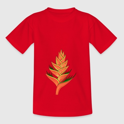 Heliconia plante - Teenager-T-shirt