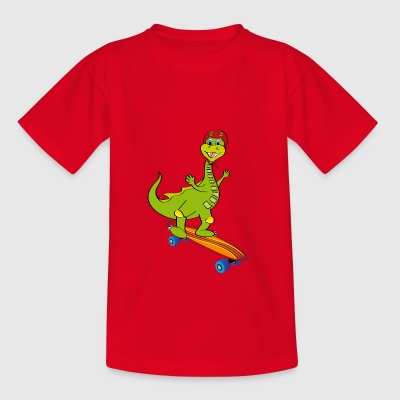 drago skateboard - Teenage T-shirt