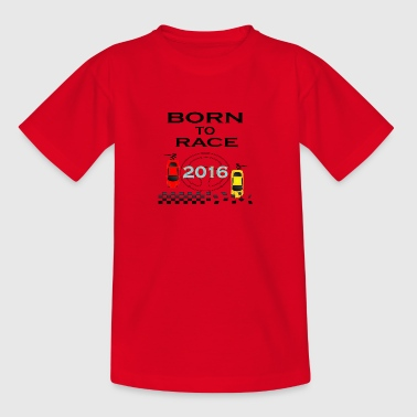 Born To Race Course Drive Race 2016 - T-shirt Ado