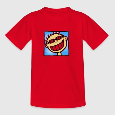 A Grinning Tourist - Teenage T-shirt