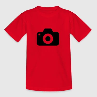 kamera - Teenager-T-shirt