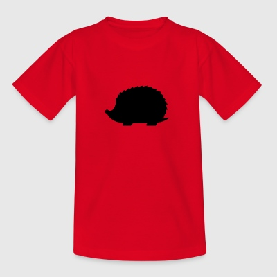 Igel Schwarz - Teenager T-Shirt