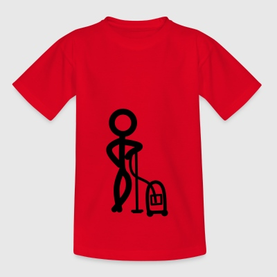 stickman Clean - Camiseta adolescente