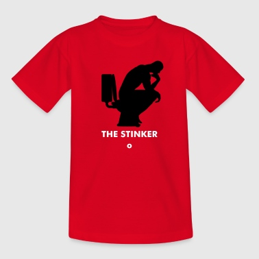 Shit Disco Think shit happens - The Thinker No.1 - Teenager T-Shirt