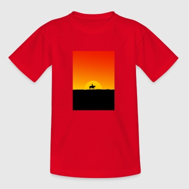 Lonely cowboy - Teenage T-shirt