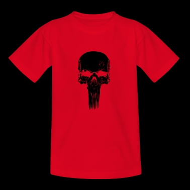 Skull lang - Teenager-T-shirt