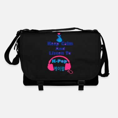 Keep Calm And Listen To Kpop ♥♫Keep Calm and Listen to K-Pop-KPop Forever♪♥ - Shoulder Bag