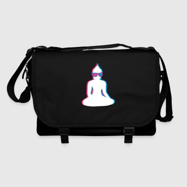 3D Buddha  with 3D glasses - Shoulder Bag