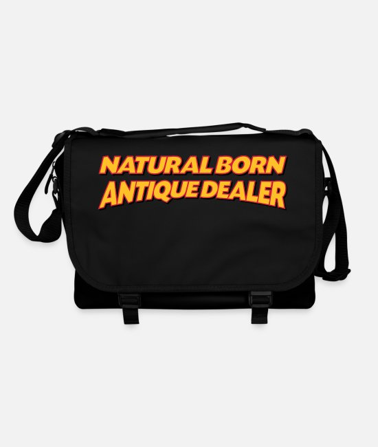 Antique Bags & Backpacks - Natural born antique dealer 3col - Shoulder Bag black/black