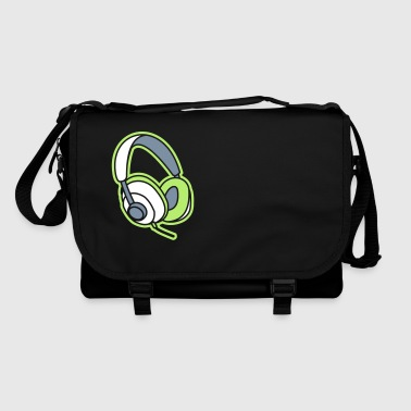 Audiophile Headphones Music Player Beat Bass DJ - Shoulder Bag
