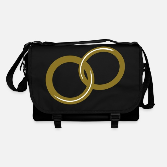 Get Engaged Bags & Backpacks - Rings / / marriage proposal / / Get engaged / / - Shoulder Bag black/black