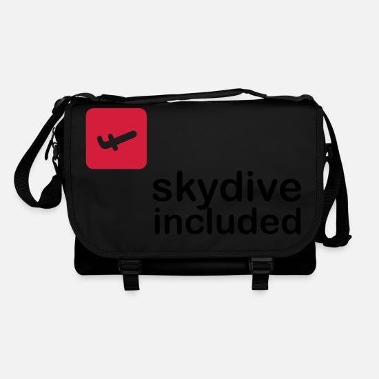 Skies Bags & Backpacks - Skydive included! - Shoulder Bag black/black