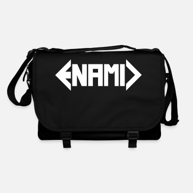 ENAMIC logo white - Shoulder Bag